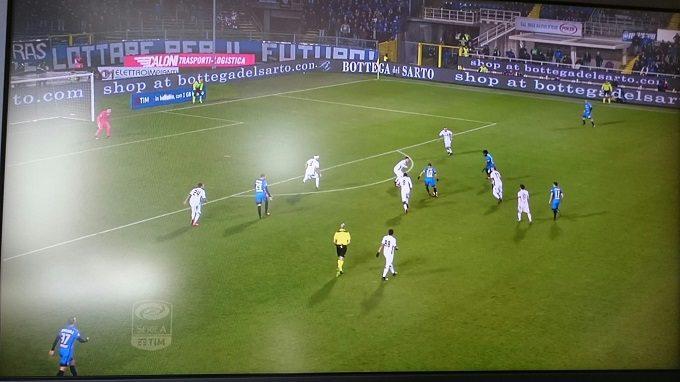 サッカー画面