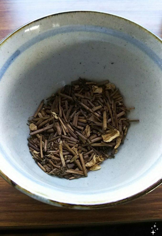 ルピシア 和生姜焙じ茶の中身