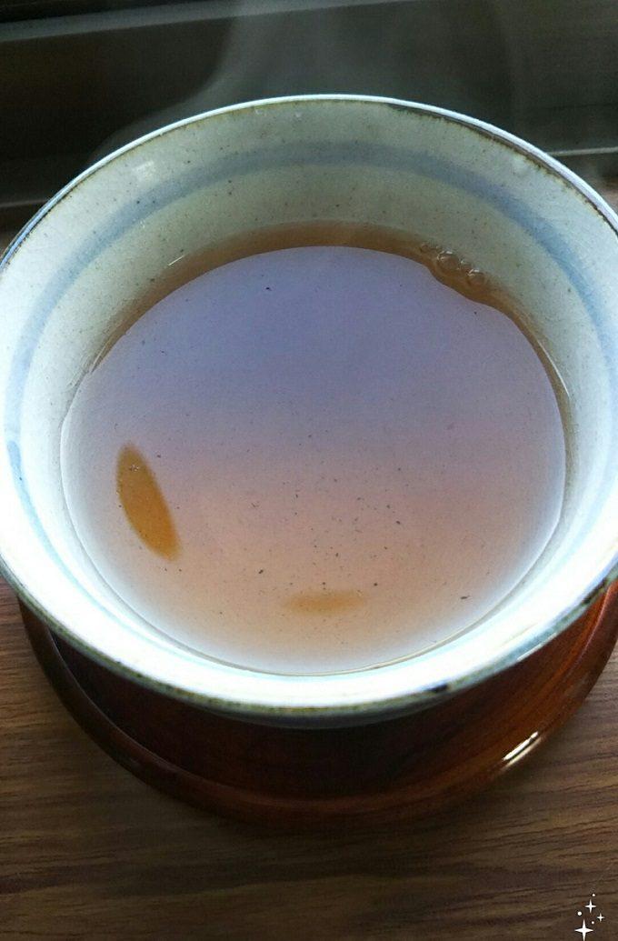 ルピシア 和生姜焙じ茶 色合い